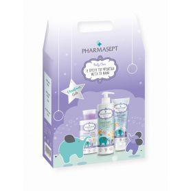 Pharmasept Christmas Gift Baby Care Velvet Mild Bath 500ml & Micellar Water 300ml & Velvet Baby Care Extra Calm Cream 150ml -...