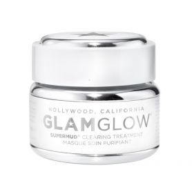 Glamglow Supermud Clearing Treatment Μάσκα Προσώπου για Βαθύ Καθαρισμό Κατά της Γυαλάδας, 15gr - GlamGlow