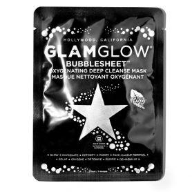Glamglow Bubblesheet Oxygenating Deep Cleanse - Μάσκα Προσώπου για Βαθύ Καθαρισμό & Αποτοξίνωση, 1τμχ - GlamGlow