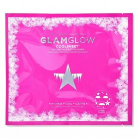 Glamglow Coolsheet No-Drip Hydrating Mask Μάσκα Ενυδάτωσης Προσώπου, 1τμχ - GlamGlow