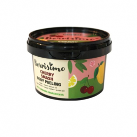 "Beauty Jar Berrisimo ""Cherry Smash"" body peeling 300g - Beauty Jar"