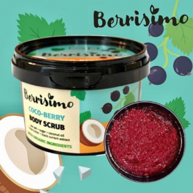 "Beauty Jar Berrisimo ""Coco Berry"" body scrub 350g - Beauty Jar"