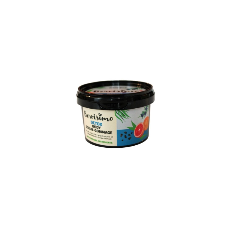 "Beauty Jar Berrisimo ""Detox"" body scrub-gommage 350g - Beauty Jar"