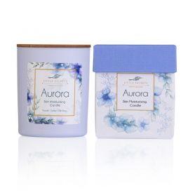 Little Secrets Aurora Skin Moisturizing Candle – Ιδανικό για μασάζ σώματος 150ml - Little Secrets