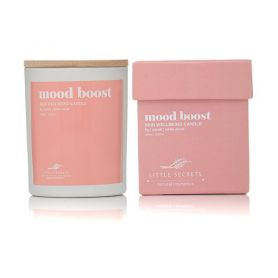 Little Secrets Mood Boost skin wellbeing candle 150ml - Little Secrets