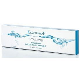 Krauterhof Hyaluron 14ημερη Θεραπεία Ομορφιάς για Ενυδατωμένη & Λεία Επιδερμίδα, 14 x 2ml - Krauterhof