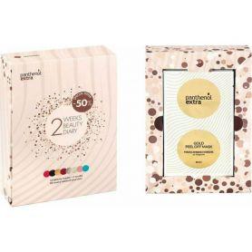 Panthenol Extra 2 Weeks Beauty Diary Πακέτο με 12 Μάσκες Ομορφιάς & 2 Scrubs - Panthenol Extra