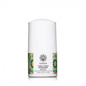 Garden of Panthenols Pure & Fresh Deodorant Unisex Roll-On αποσμητικό Χωρίς Άλατα Αλουμινίου 50ml - Garden of Panthenols