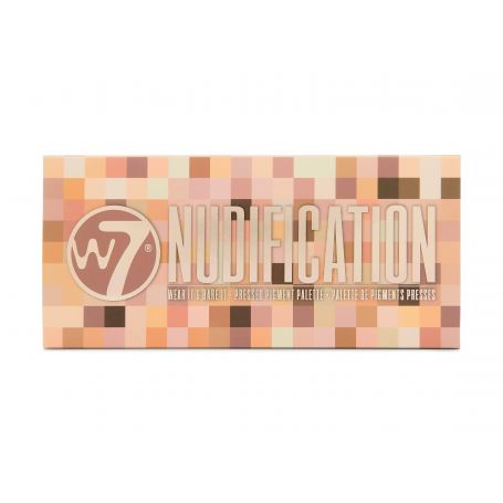 W7 Cosmetics Nudification Pressed Pigment Palette 12g - W7 MakeUp