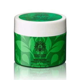 Garden of Panthenols Ginger & Green Tea Θρεπτικό και Ενυδατικό Βούτυρο Σώματος με Πράσινο Τσάι 200ml - Garden of Panthenols