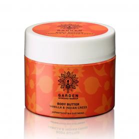 Garden of Panthenols Body Butter Vanilla & Indian Cress Θρεπτικό και Ενυδατικό Βούτυρο Σώματος με Ινδοκάρδαμο 200ml - Garden ...