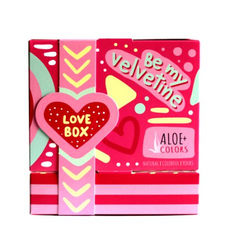 Aloe+ Colors Be my Velvetine! Gift Set - Aloe + Colors