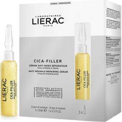 Lierac Cica Filler Anti Wrinkle Repairing Serum 3x10ml - Lierac
