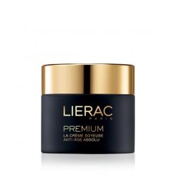 Lierac Premium La Creme Soyeuse Μεταξένια Κρέμα Απόλυτης Αντιγήρανσης 50ml - Lierac