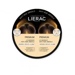Lierac Premium The Mask Absolute Anti-Aging Μάσκα Προσώπου με Ολοκληρωμένη Αντιγηραντική Δράση, 2x6ml - Lierac