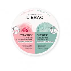 Lierac Duo Masks Hydragenist & Sebologie 2x6ml - Lierac