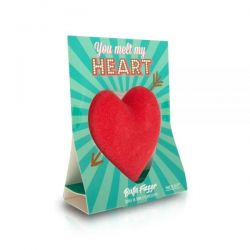 Mad Beauty Melt My Heart Bath Fizzer 190g - Mad Beauty