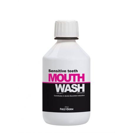 Sensitive Teeth Mouthwash- Frezyderm 250ml - Frezyderm