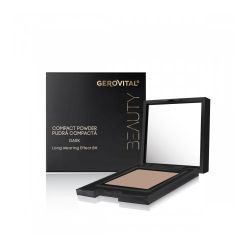 Gerovital Beauty Compact Powder Dark 10g Πούδρα Dark - Gerovital