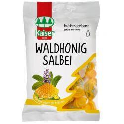 Kaiser Waldhonig Salbei Φασκόμηλο - Μέλι Καραμέλες για τον Ερεθισμένο Λαιμό - Βήχα 75g - Kaiser