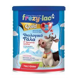 Frezylac Gold 2 Βιολογικό Γάλα για Βρέφη από τον 6 μήνα έως τον 12 μήνα 400gr - Frezyderm