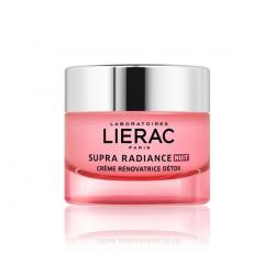 Lierac Supra Radiance Nuit Creme Renovatrice Detox Κρέμα Αποτοξίνωσης - Ανανέωσης Νύχτας 50ml - Lierac