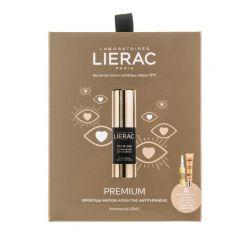 Lierac Promo Premium Eye Cream 15ml & Cica-Filler Serum 10ml & Sunissime Fluid SPS50+ 10ml - Lierac