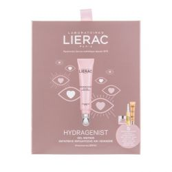 Lierac Promo Hydragenist Gel Yeux Hydra Lissant 15ml & Gel Cream Mat 10ml, Cica-Filler Serum 10ml,Sunissime Fluide Spf30, 10m...
