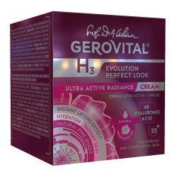 Gerovital Ενυδατική Δραστική Κρέμα Λάμψης 50ml - Gerovital