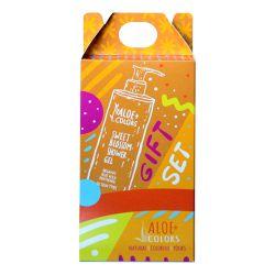 Aloe+ Colors Gift Set Sweet Blossom Shower Gel 250ml & Hair and Body Mist 100ml - Aloe + Colors