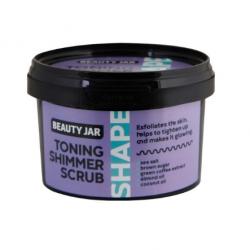 Beauty Jar Shape TONING SHIMMER Scrub Τόνωσης Mε Shimmer Κατά Της Κυτταρίτιδας 360gr - Beauty Jar