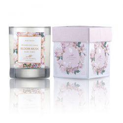 Little Secrets Bloom Musk Φυσικό αρωματικό κερί σόγιας 150ml - Little Secrets