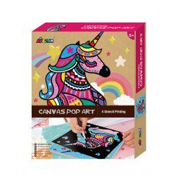 Avenir Canvas Pop Art-Unicorn 3+ - Avenir