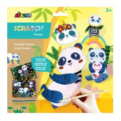 Avenir Scratch Fuzzy Sticks | Pandas 3+ - Avenir