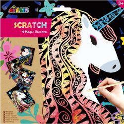 Avenir Scratch - Magic Unicorn Head 3+ - Avenir