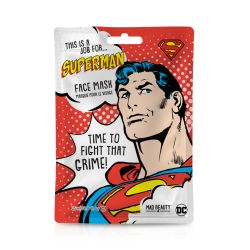 Mad Beauty Face Mask Superman 1τμχ - Mad Beauty