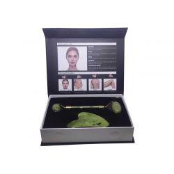 Ag Pharm Facial Roller Ρολο Νεφριτη και Gua-Sha Για Μασαζ Προσωπου 1τεμ - Ag pharm