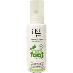 Ag Pharm On Foot Spray, Σπρέϊ Ποδιών Για Ιδρώτα, Κοκοσμία & Μύκητες, 100ml - Ag pharm