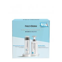 Frezyderm Moisturizing Plus Cream 50ml & Micellar Water 200ml - Frezyderm