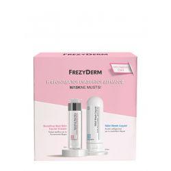 Frezyderm Maskne Musts Sensitive Red Skin Facial Cream 50ml & Mild Wash Liquid 200ml - Frezyderm