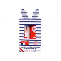 Inuwet Lip Balm Set Duo Paris 2x3.5GR - Inuwet