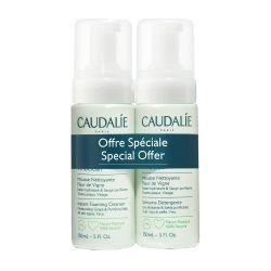 Caudalie Vinoclean Instant Foaming Cleanser Απαλός Αφρός Καθαρισμού Προσώπου 2x150ml - Caudalie