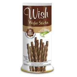 Wish Wafer Sticks Χωρίς Προσθήκη Ζάχαρης 135gr - Wish