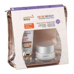 Panthenol Extra set Sun Care Color SPF50 Αντιηλιακό Προσώπου με Χρώμα 50ml & Face & Eye Anti-Wrinkle Cream 50ml & ΔΩΡΟ Νεσεσέ...