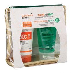 Panthenol Extra Promo Pack Sun Care Face and Body Milk SPF50 150ml & Aloe Vera Gel 150ml+ΔΩΡΟ ΝΕΣΕΣΕΡ - Panthenol Extra