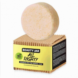 "Beauty Jar ""ALL RIGHTY"" Μπάρα Σαμπουάν για κανονικές επιδερμίδες 65gr - Beauty Jar"