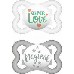 Mam Air Latex 0-6m Σιλικόνης Super Love 2τμχ - Mam