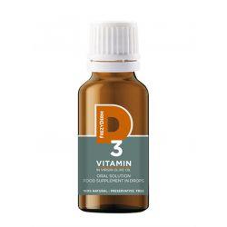 Frezyderm Vitamin D3 200iu Πόσιμο Συμπλήρωμα Διατροφής σε Σταγόνες Σε Παρθένο Ελαιόλαδο 20ml - Frezyderm