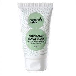 Panthenol Extra Green Clay Facial Mask - Μάσκα Βαθύ Καθαρισμού 75ml - Panthenol Extra