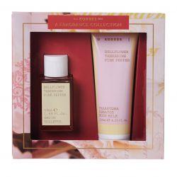 Korres Bellflower/ Tangerine/ Pink Pepper Eau De Toilette 50ml & Body Milk 125ml - Korres